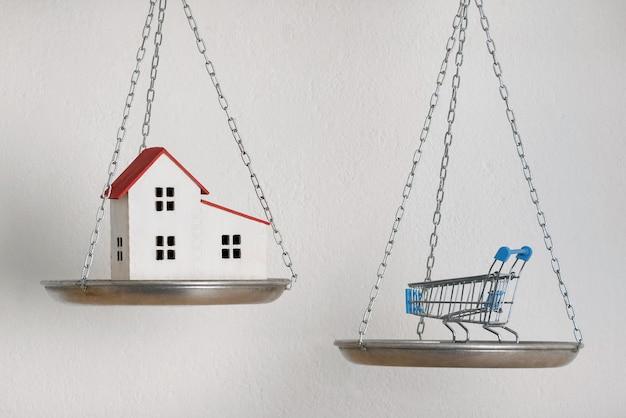Conceito de equilíbrio de equilíbrio doméstico