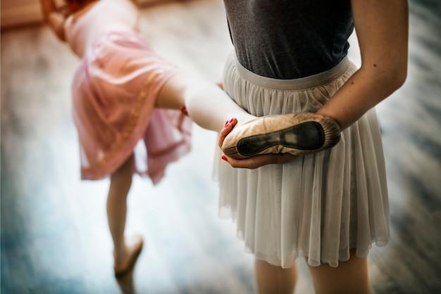 Conceito de escola de formação de dançarina de balé