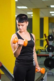 Conceito de esporte, fitness, treinamento e estilo de vida