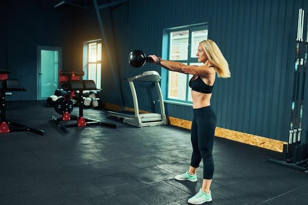 Conceito de esportes queima de gordura e um estilo de vida saudável.