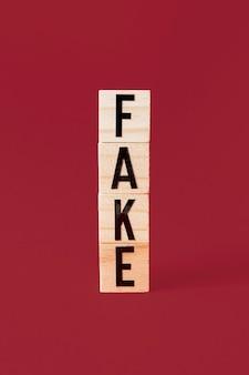 Conceito de falso