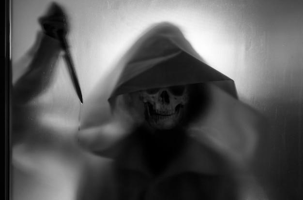 Conceito de fantasma, filme de terror