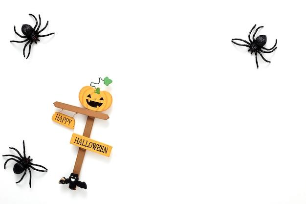 Conceito de feriado de decoração de halloween