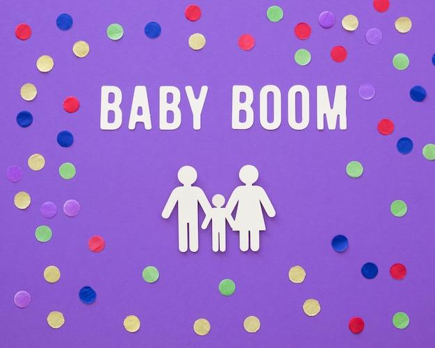 Conceito de fertilidade do baby boom