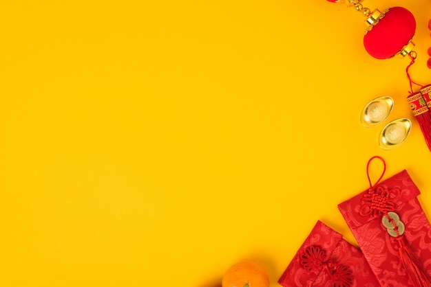 Conceito de festival do ano novo chinês