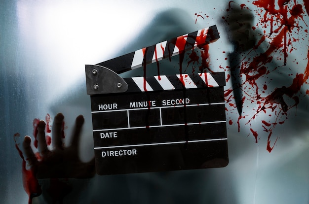 Conceito de filme de terror