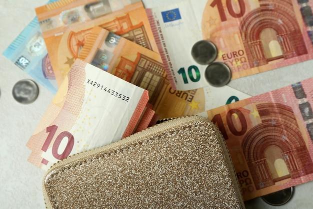 Conceito de finanças e economia com carteira