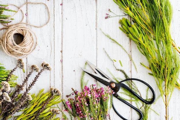 Conceito de flor de buquê de estilo adorável floral flor florista