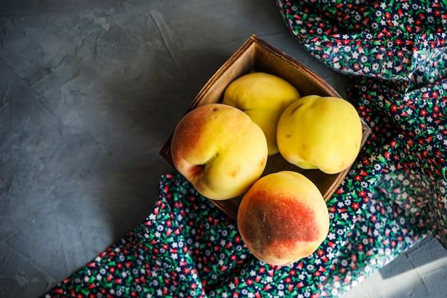 Conceito de frutas orgânicas