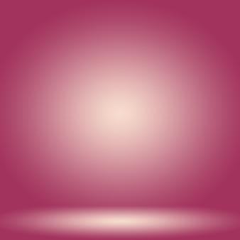 Conceito de fundo do estúdio abstrato vazio claro gradiente roxo fundo do quarto do estúdio para o produto