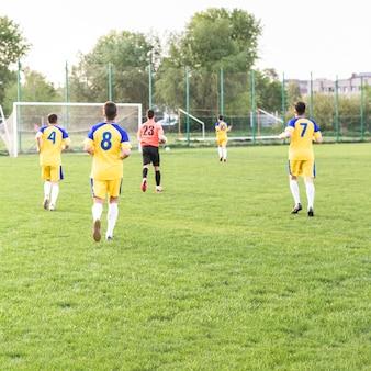 Conceito de futebol amador