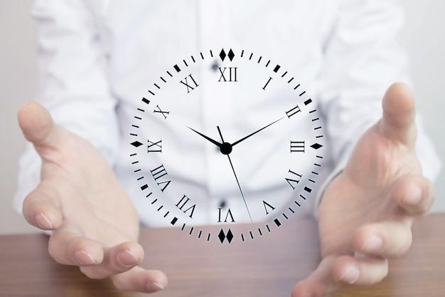 Conceito de gerenciamento de tempo de negócios