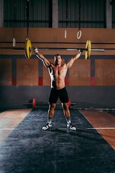 Conceito de ginásio e fitness