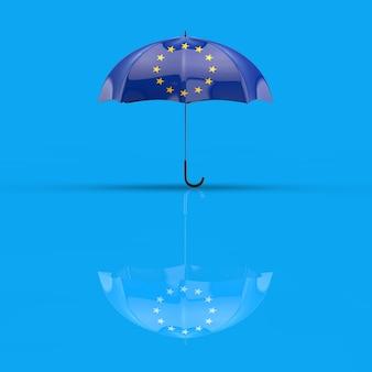 Conceito de guarda-chuva - ilustração 3d
