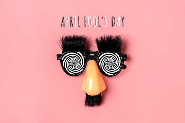 Conceito de happy fools day 1 de abril