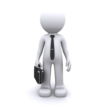 Conceito de homem de negócios
