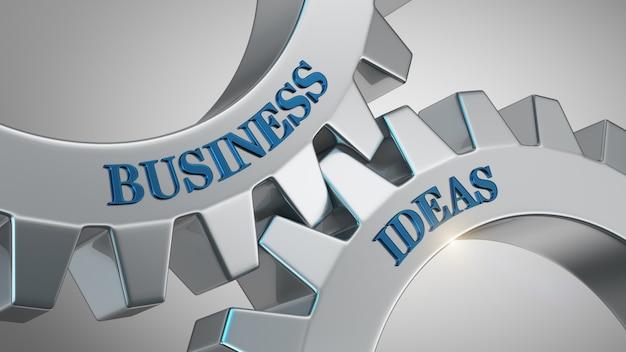 Conceito de ideias de negócio
