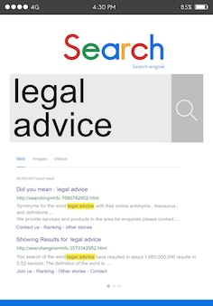 Conceito de internet seo search word connection