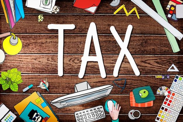 Conceito de isenção de isenção de devolução de reembolso de impostos