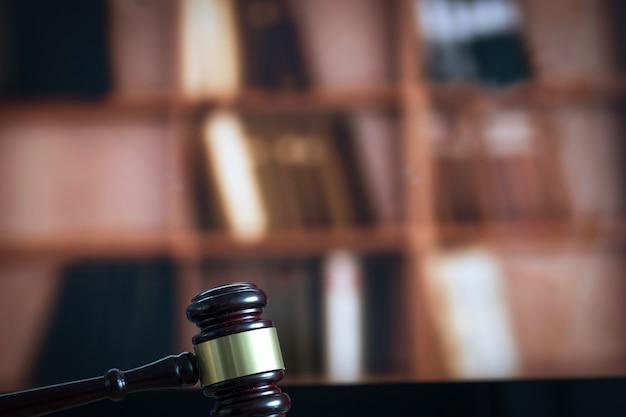 Conceito de lei martelo de juiz e livro legal