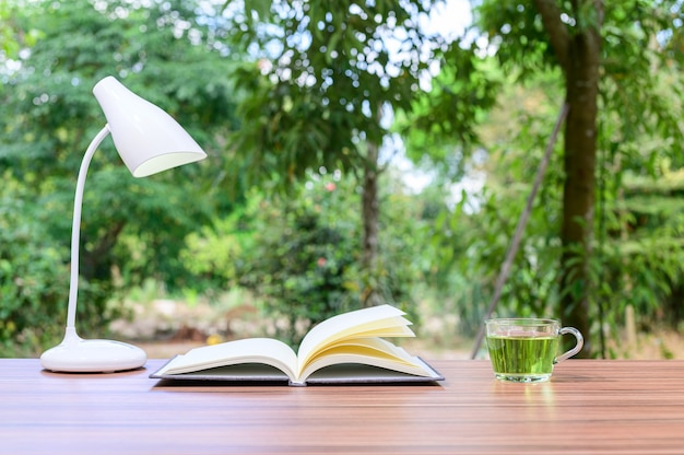 Conceito de leitura de livros e carteiras