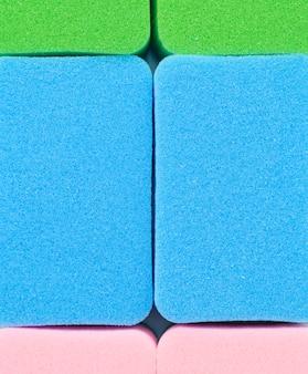 Conceito de limpeza com esponja