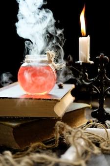 Conceito de magia e magia.
