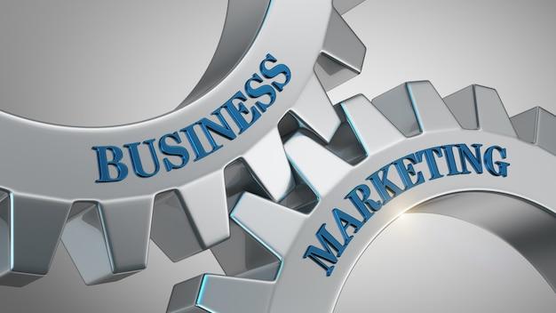 Conceito de marketing de negócios