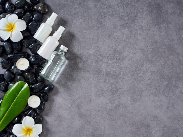 Conceito de massagem spa e cuidados com a pele