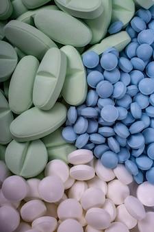 Conceito de medicamentos. medicamentos, analgésicos, resfriados e outros