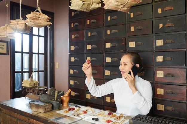 Conceito de medicina tradicional asiática