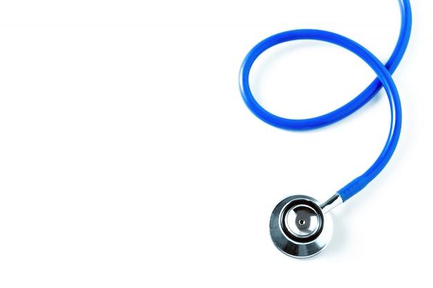 Conceito de médico e hospital. estetoscópio. conceito de cuidados de saúde