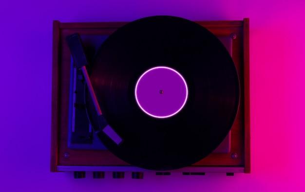 Conceito de música de estilo retro
