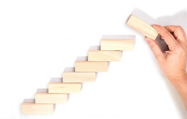 Conceito de negócio para o processo de sucesso de crescimento.