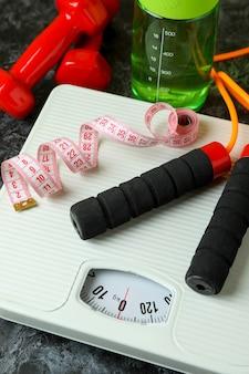Conceito de perda de peso isolado