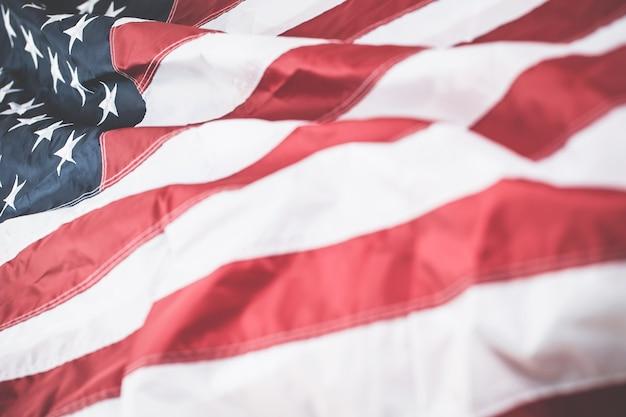Conceito de plano de fundo da bandeira dos estados unidos.