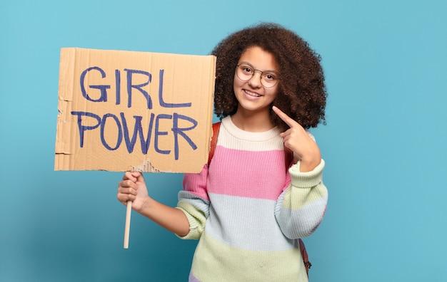 Conceito de poder feminino bem afro