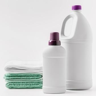 Conceito de produtos de limpeza ecológicos