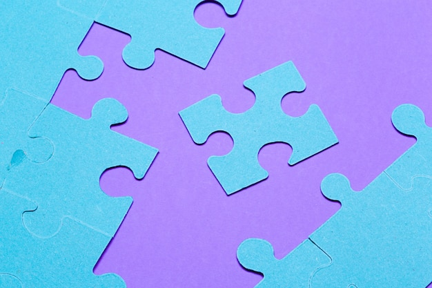 Conceito de quebra-cabeça