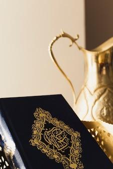 Conceito de ramadã com alcorão