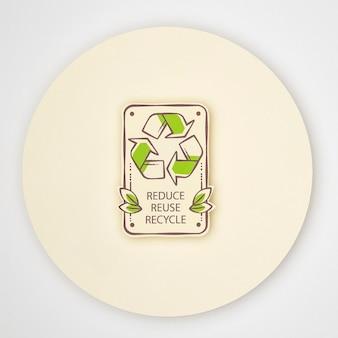 Conceito de reciclagem ecológica