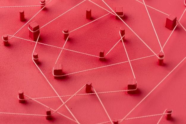 Conceito de rede ainda vida