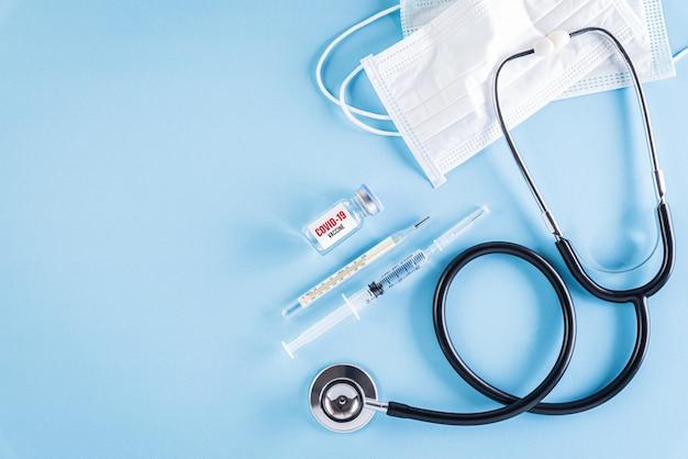 Conceito de saúde e médico para proteger o coronavírus (covid-19).