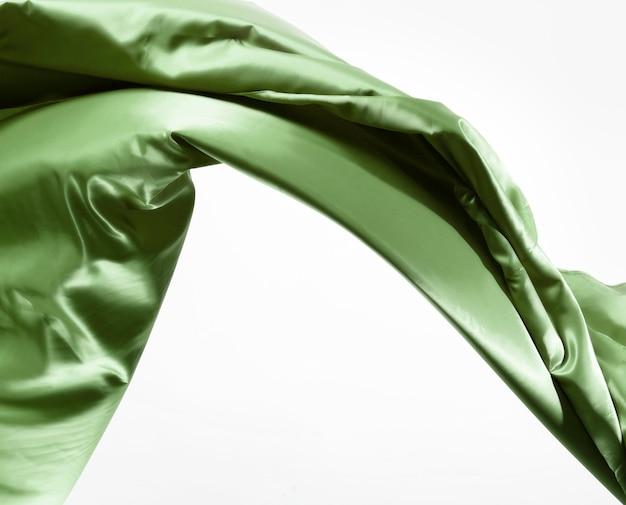 Conceito de seda elegante com espaço de cópia