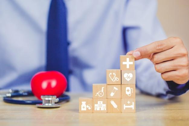 Conceito de seguro saúde