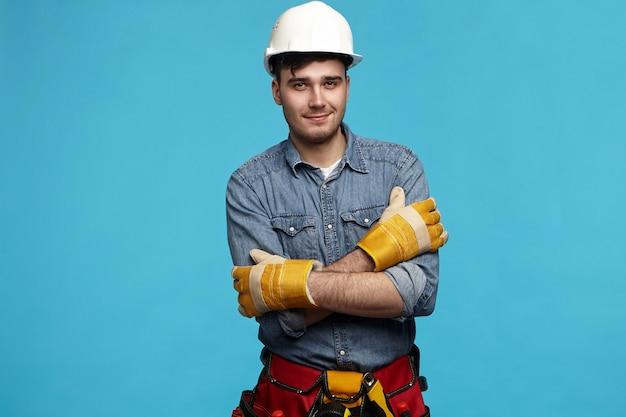 Conceito de serviço de pessoas, ocupação e manutenção.