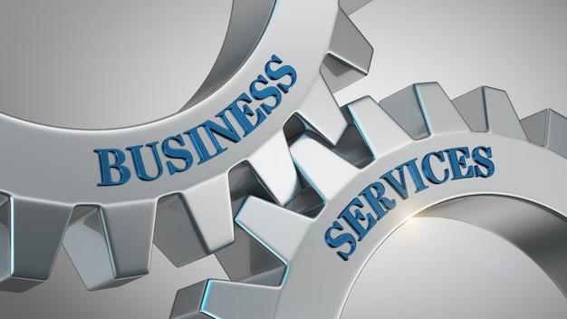 Conceito de serviços de negócios