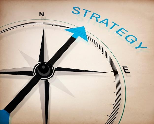 Conceito de tática de processo de planejamento de visão de estratégia