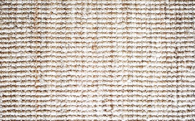 Conceito de tecido de linho texturizado padrão texturizado