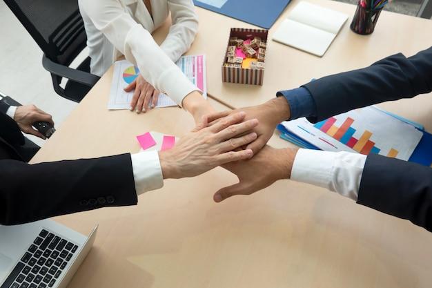 Conceito de unidade de pessoas de negócios